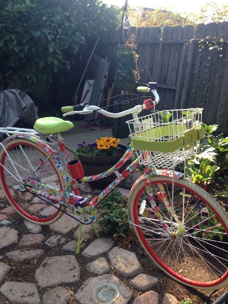 Alice Olivia Neiman Marcus Bicycle Bike Beach Cruiser 28 Xtras