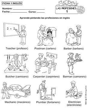 FICHAS 1,2,3,4 y 5 para que los alumnos aprendan pintando