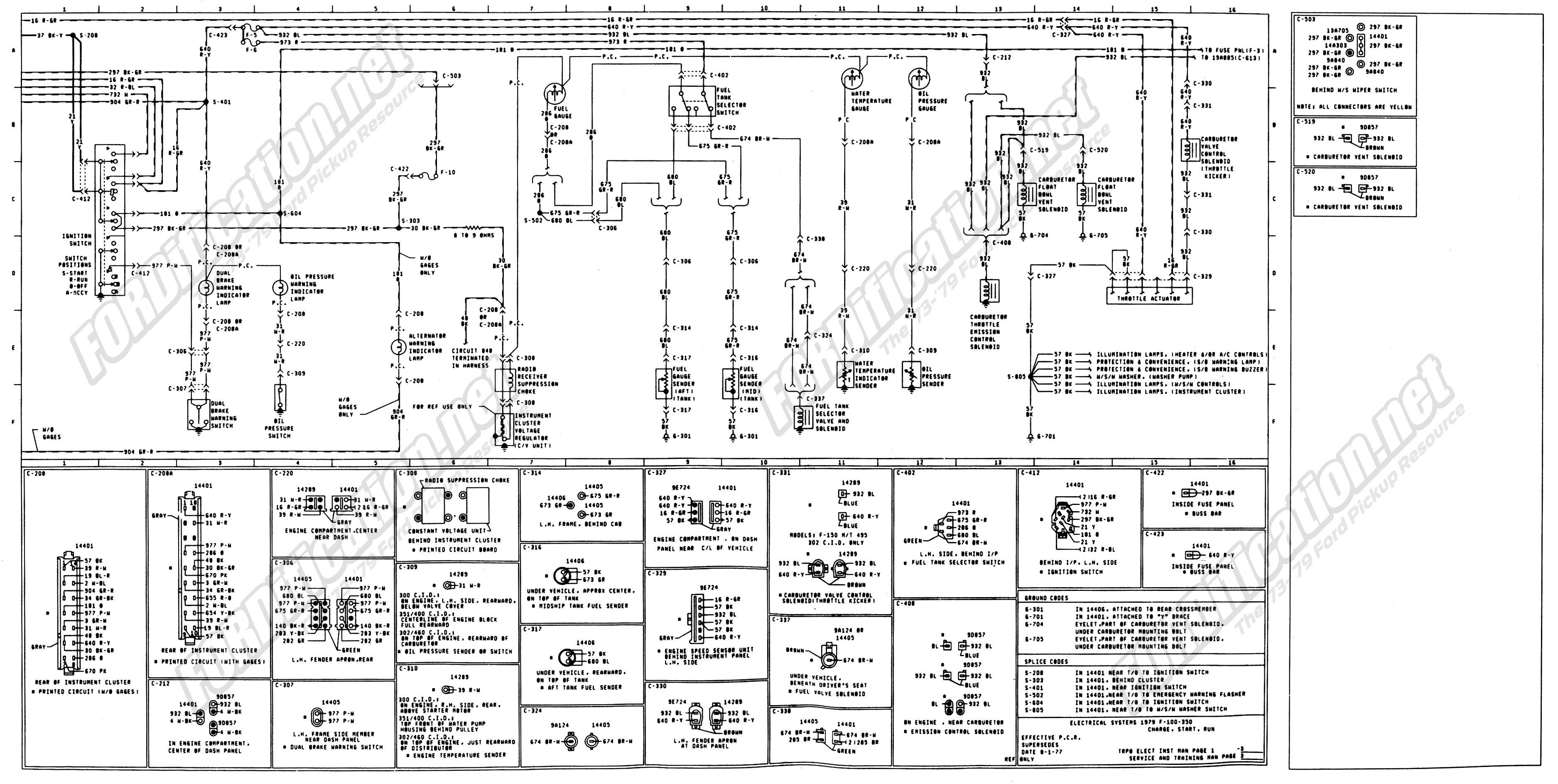 1973 1979 Ford Truck Wiring Diagrams & Schematics | Ford truck, Diagram,  F250 | Ford F 350 Wiring Diagram For 1973 |  | Pinterest