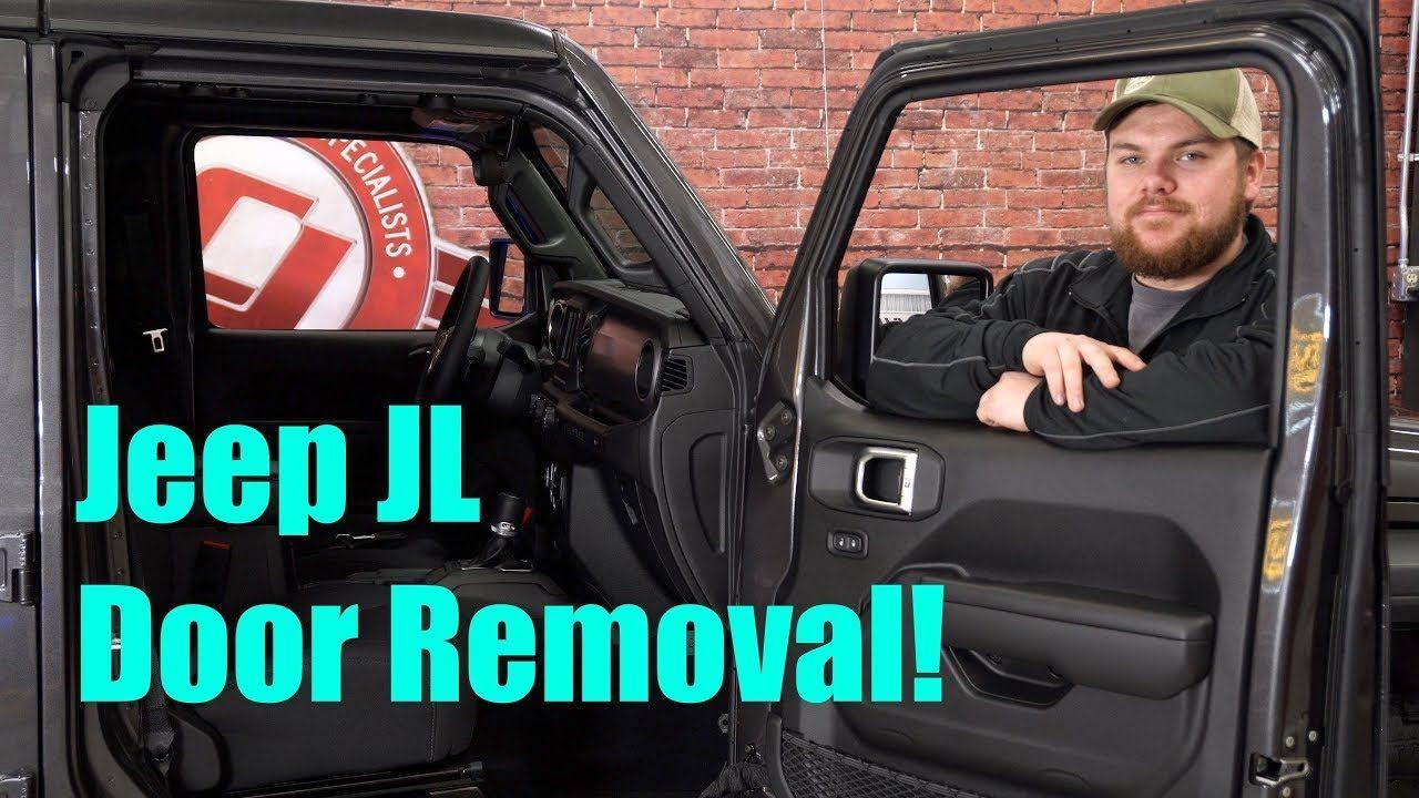 How to Remove 2018 Jeep Wrangler JL Doors! YouTube