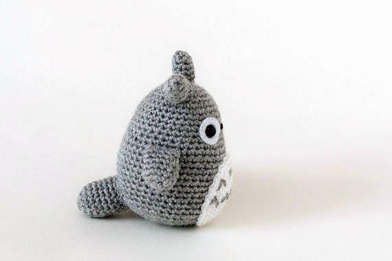 Amigurumi Totoro : Amigurumi totoro peluche totoro totoro pequeño mi vecino totoro