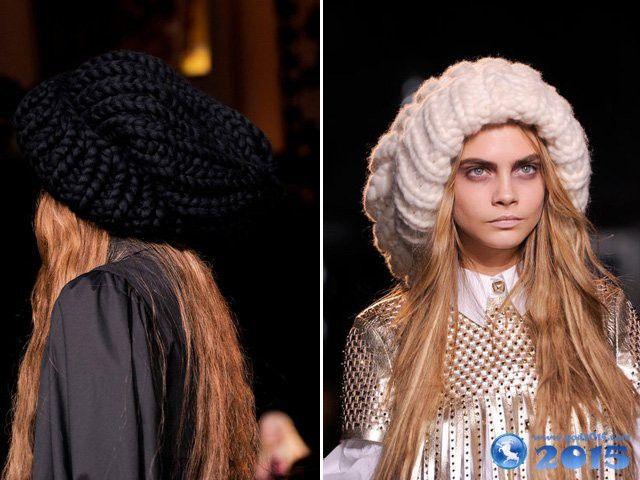 Модные головные уборы для женщин сезона 2015