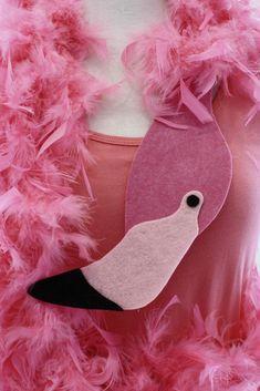 Last Minute Kostüm: Flamingo - MIFUS Family #diypiratecostumeforkids