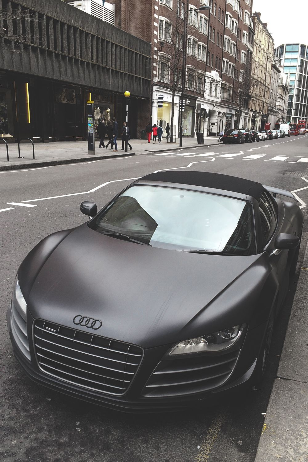 Audi i have a weakness for matte black paint jobs