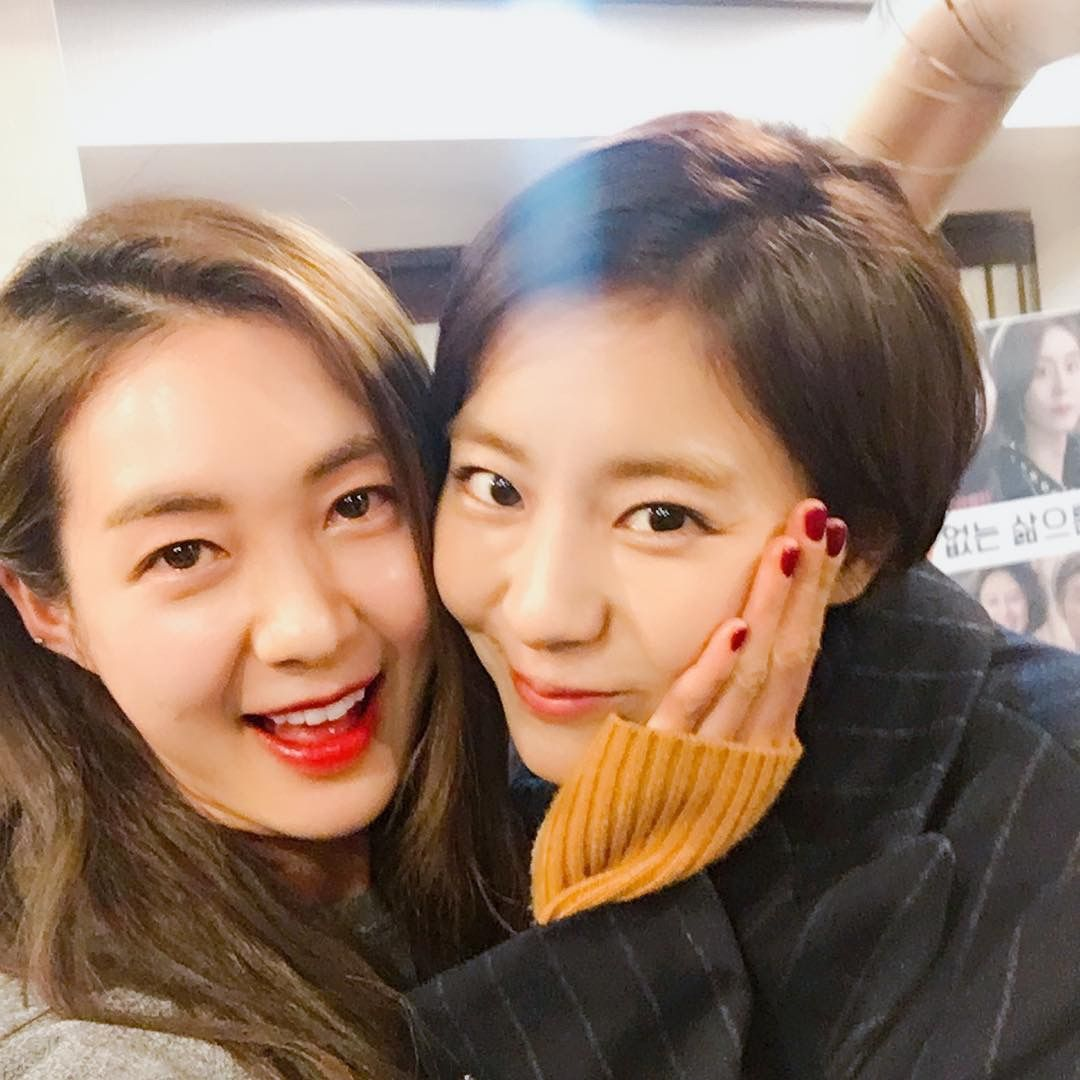 Night light korean drama synopsis - Uee And Lee Yowon 2017 Bts Night Light