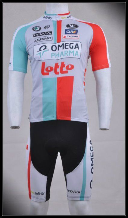 36ca92606 2011 Tour de France Omega Pharma-Lotto Racing Team Bib Set - SGD  75 ...