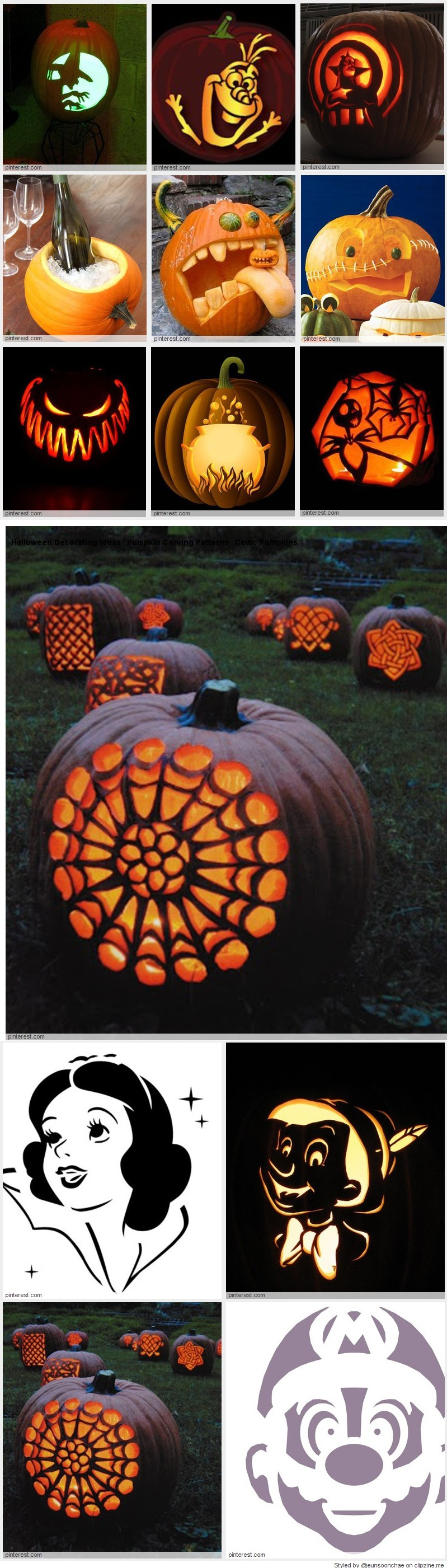 Pumpkin carving patterns awesome fall harvest thanksgiving and