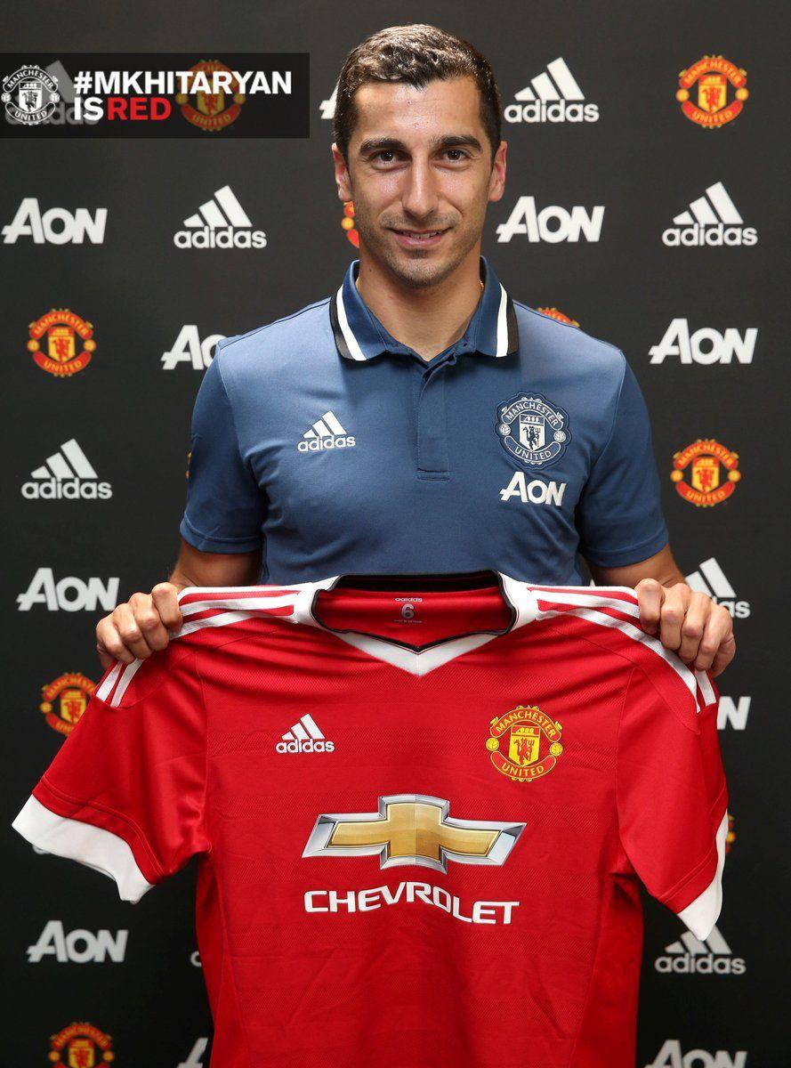 Manchester United have signed Henrikh Mkhitaryan