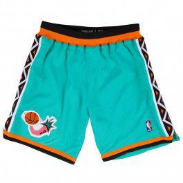 N\ A Heat Basketball Shorts Embroidered mesh Shorts Mens Retro Sports Shorts Swingman Jersey