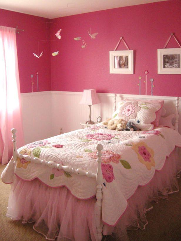 20 colorful bedrooms pink girls. Interior Design Ideas. Home Design Ideas