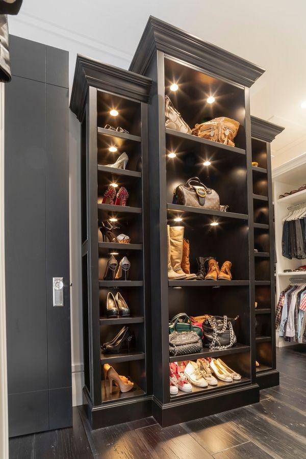 Closet Organization Systems Tips Shoe Bags Organizer Walk In