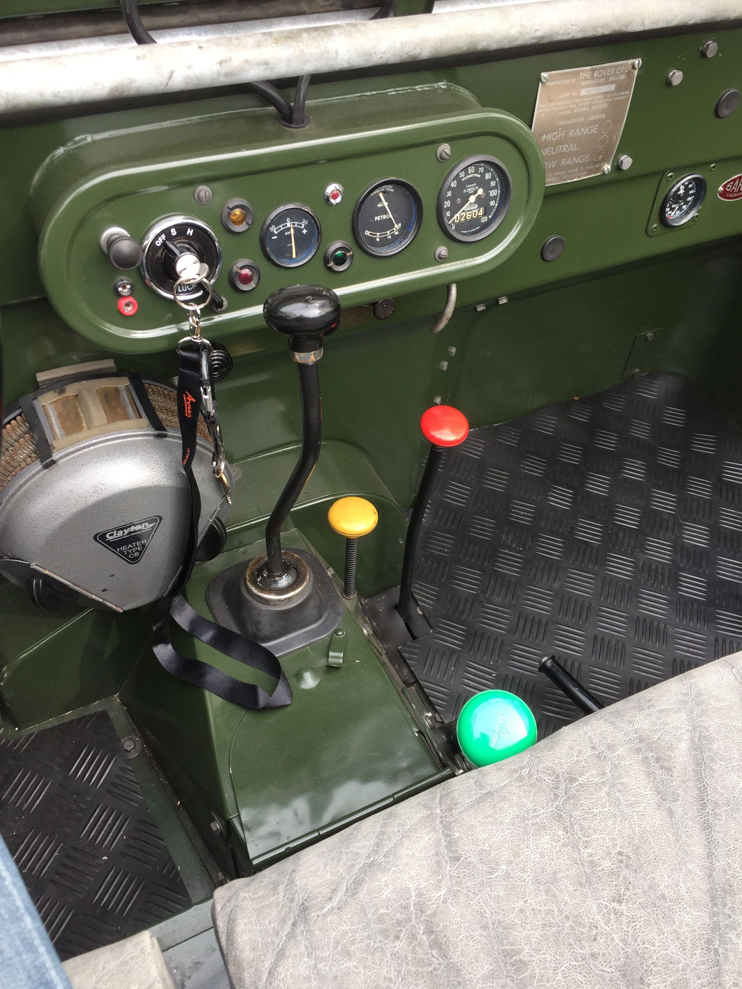 Serie 1 20 10 1951 Detail Gear Shift Green Overdrive Garaje Para Coches Carros Y Camionetas Vehículos Todoterreno