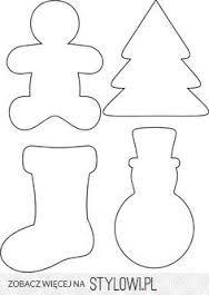 Uszyj To Rekodzielo Diy Handmade Darmowe Szablony I Wykroje Swiateczne Cz 2 Christmas Crafts Crafts Diy And Crafts