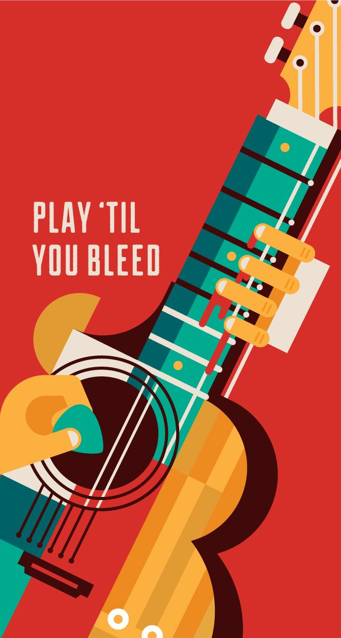 how to play bleed it out on guitar