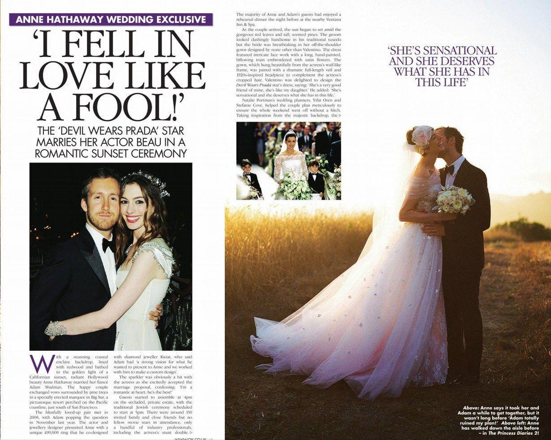 Anne hathaway wedding valentino i weddings pinterest anne hathaway wedding valentino junglespirit Gallery