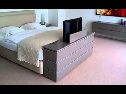 TV lift meubel aan voeteneinde bed - YouTube - Bedroom | Pinterest ...