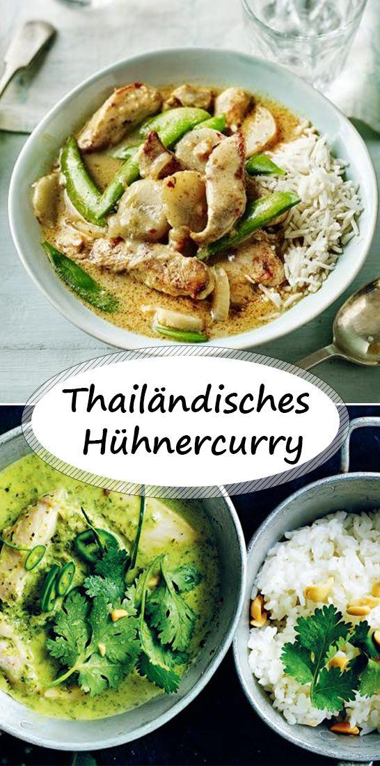 Thai Hühnercurry #thaifoodrecipes