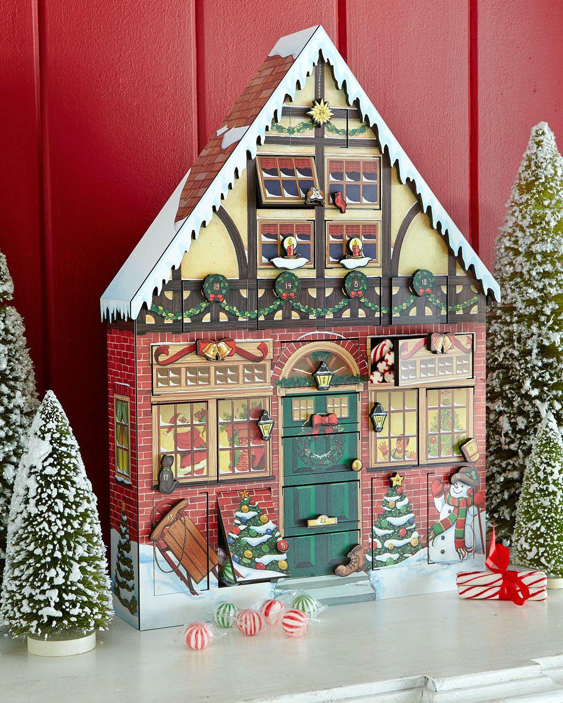 Christmas house advent calendar at neiman marcus - Calendario adviento madera ...