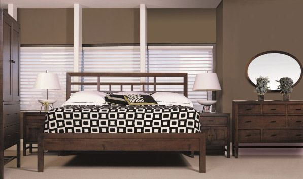 Bedroom Collection - Soma #BedroomSet #MadeinCanada #SolidWood