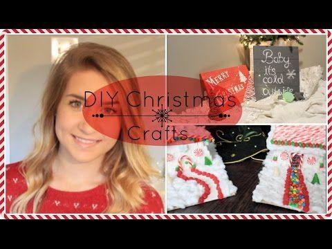 DIY Christmas Crafts   Pinterest Inspired ♥ - YouTube