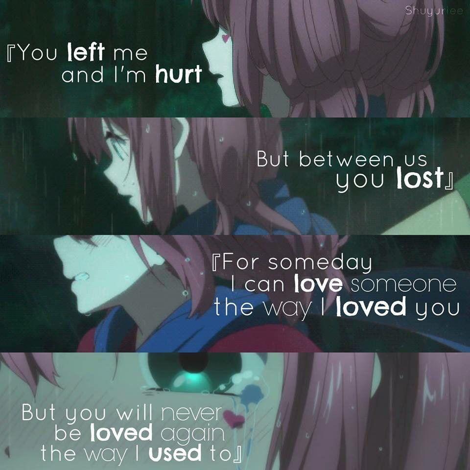 Anime Chuunibyou Ren Depressing QuotesSad