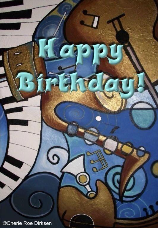 Music lover   Happy birthday music, Happy birthday cards ...
