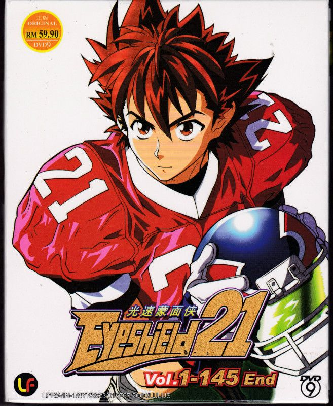 DVD ANIME EYESHIELD 21 Vol.1145End Complete TV Series