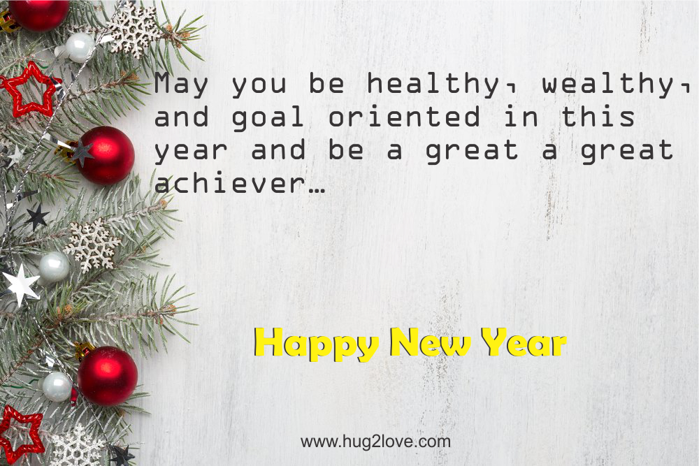 Best Short New Year 2018 Wishes Status 140 Words Quotes | Happy New ...