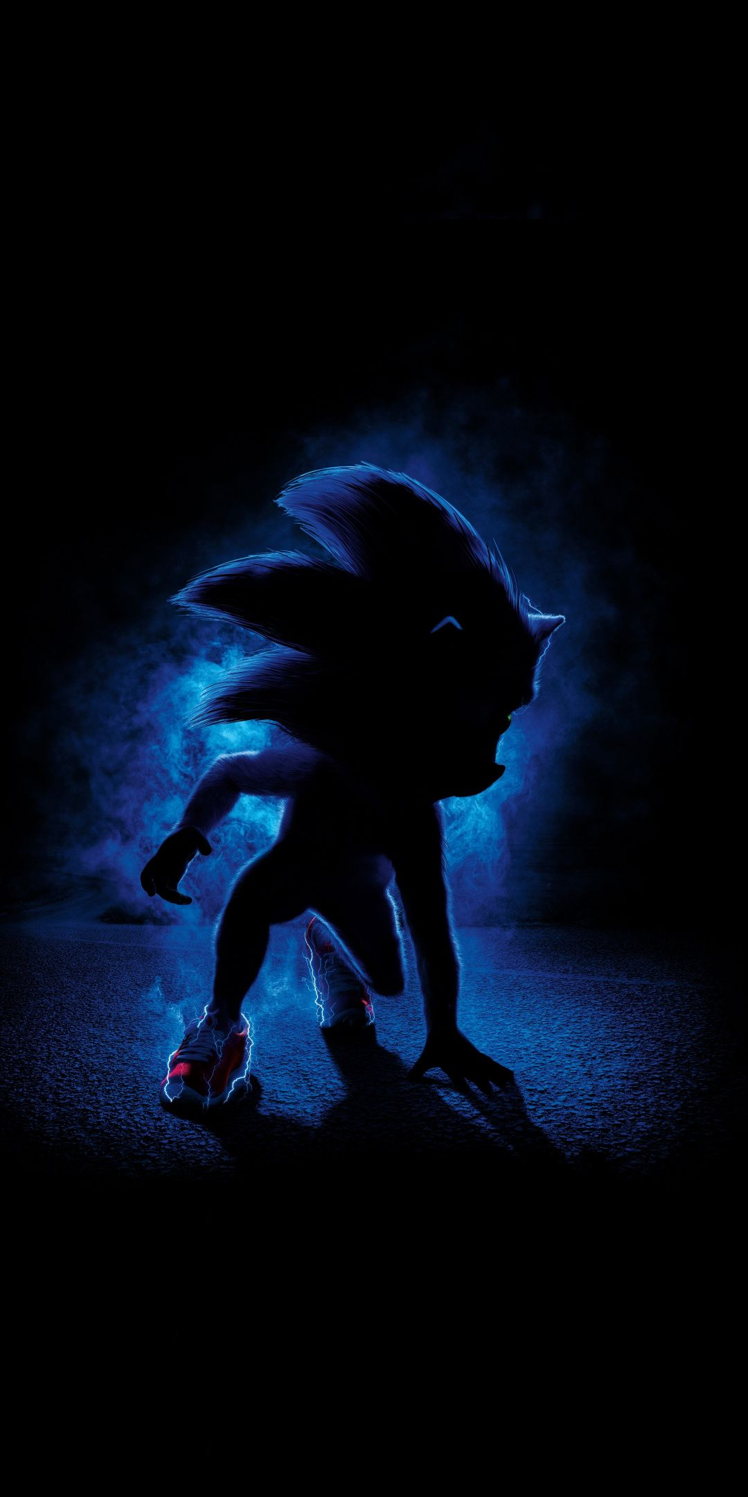 Dark Video Game Sonic The Hedgehog 1080x2160 Wallpaper Hedgehog Movie Sonic The Movie Movie Wallpapers