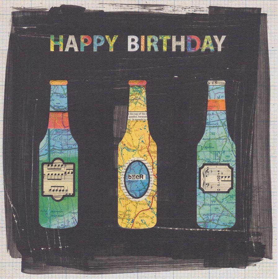 Beer Happy Birthday Card Top Notch CardSpark Happy