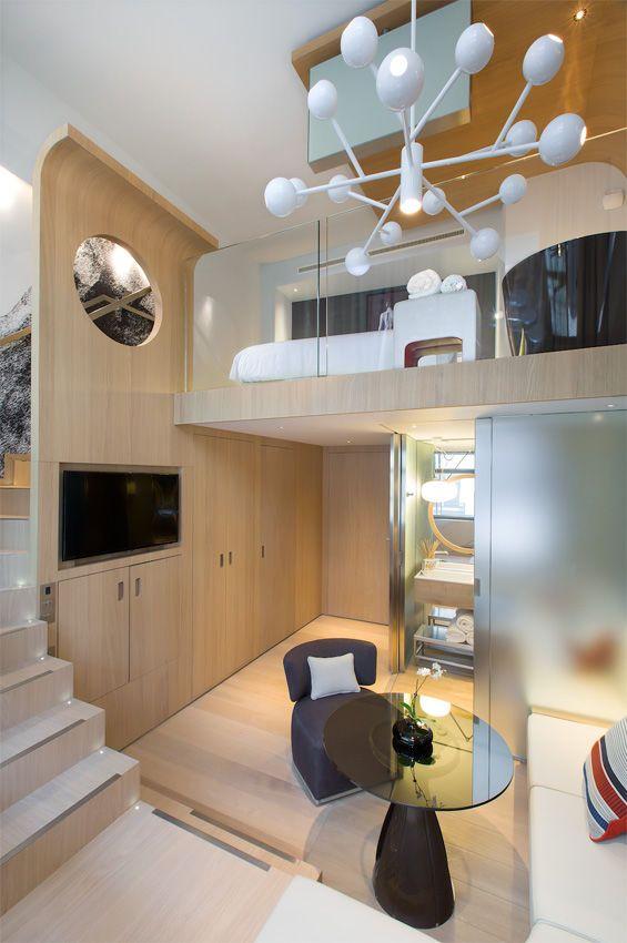 Minimalist Hotel Room: Minimalist Apartment, Hotel