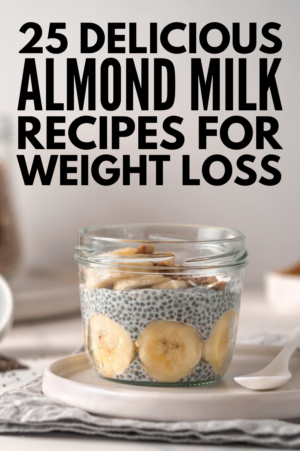 25 Healthy and Delicious Almond Milk Recipes For Weight Loss -   17 diet Clean Eating almond milk ideas