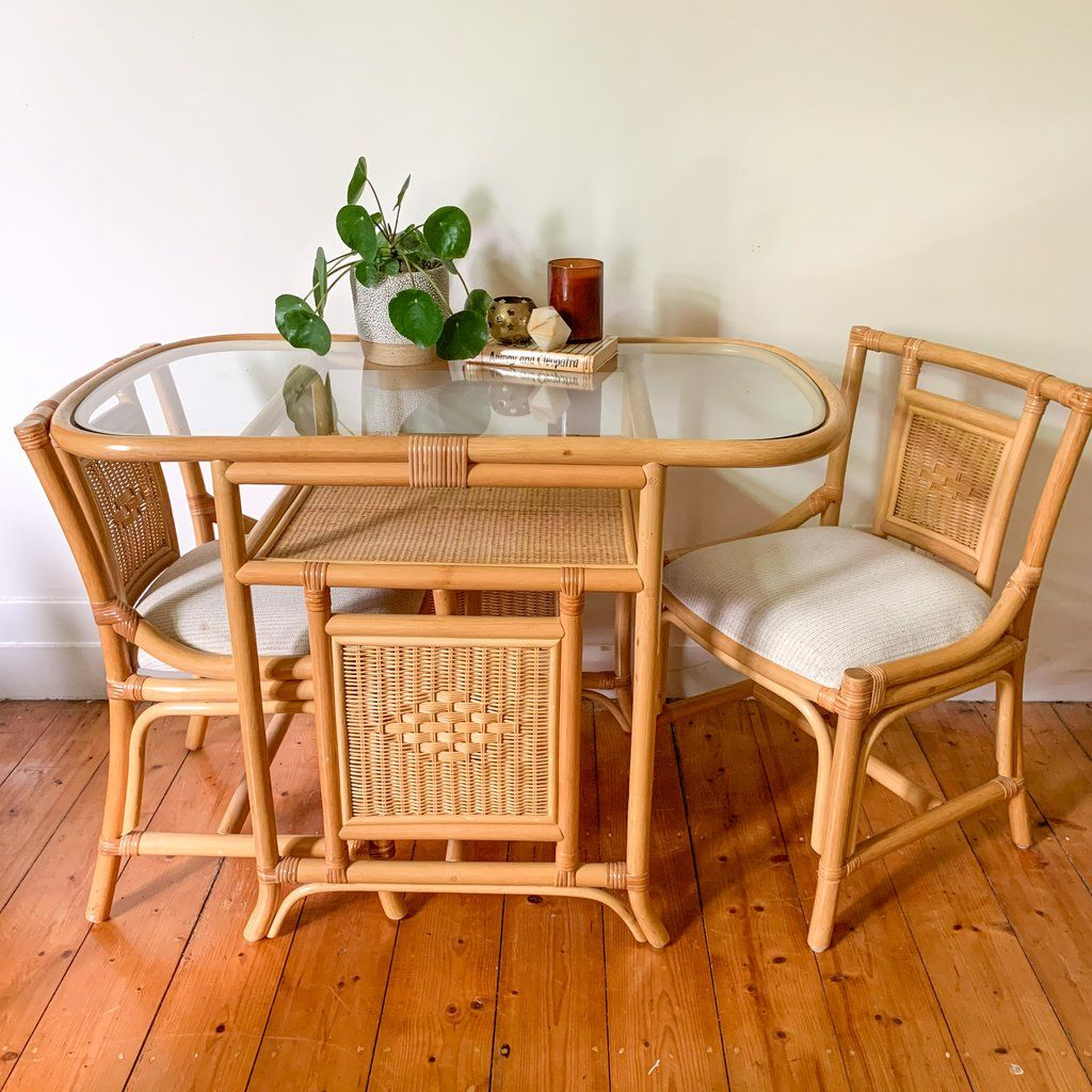 Cafe Inspired Rattan And Polystrand Woven Dining Table Multiples