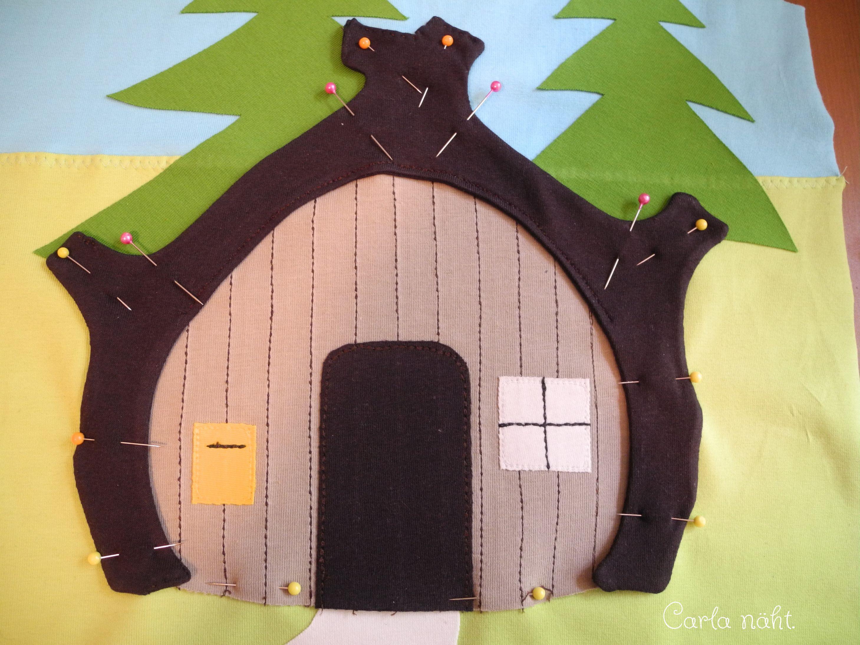 Mascha & der Bär zum dritten Geburtstag!   Bären, Applikationen und ...