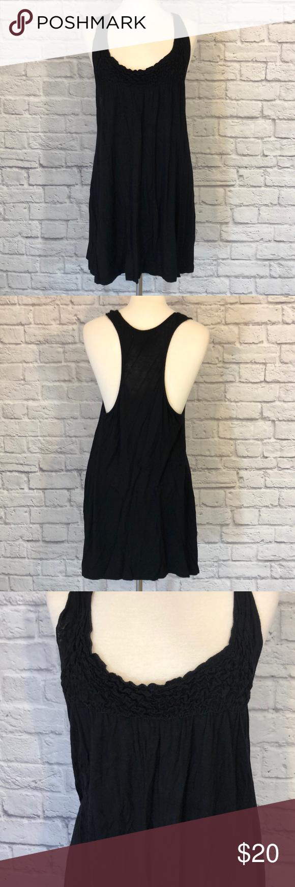 Love Notes Casual Little Black Racerback Dress Racerback Dress Clothes Design Tank Top Fashion [ 1740 x 580 Pixel ]