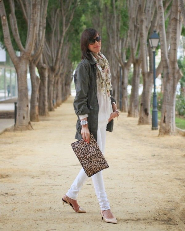 Stunning Fashion Combinations With Military Green Jacket – Perfect ...