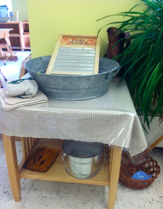 Cloth washing setup at MSS (love it!)