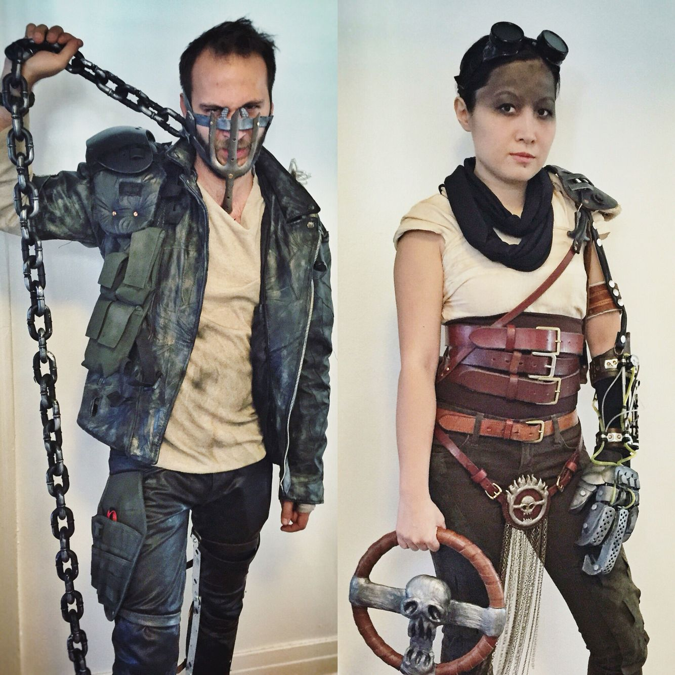 Extrem Our couples costumes for Halloween 2015. Mad Max Fury Road. Max  OI83