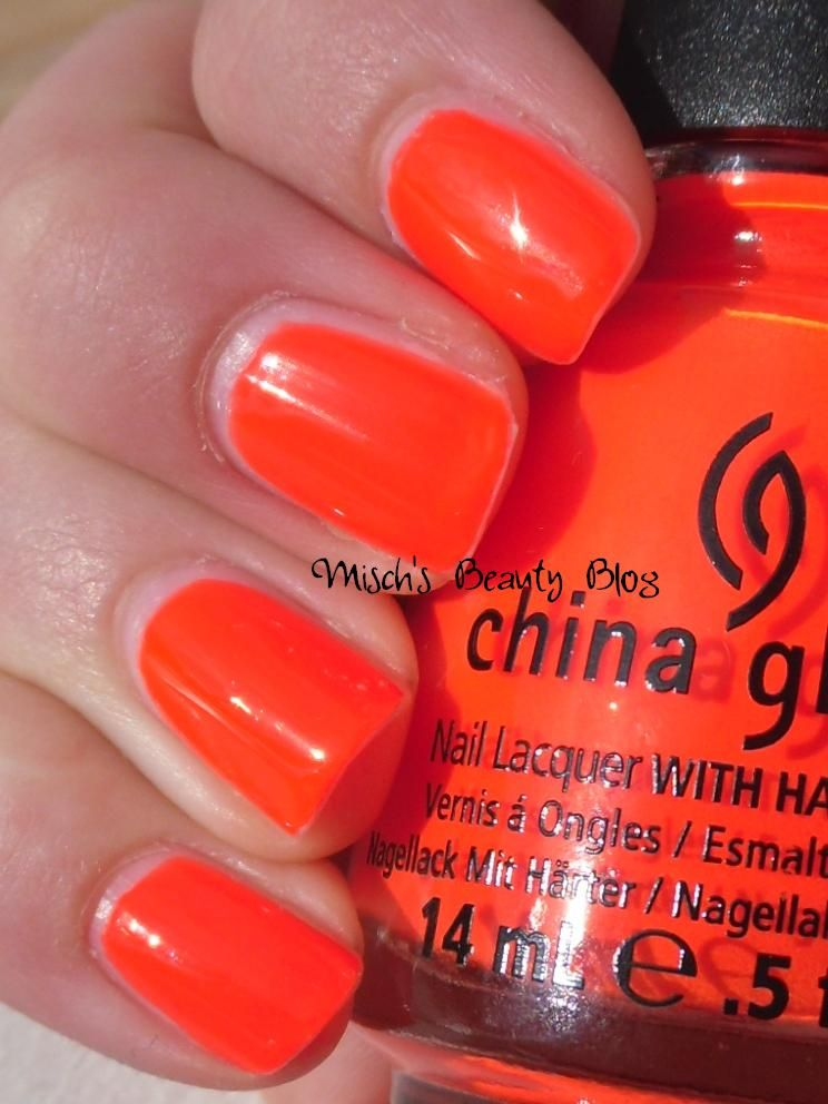China Glaze - Japanese Koi. Neon. Bright neon orange (that leans a ...