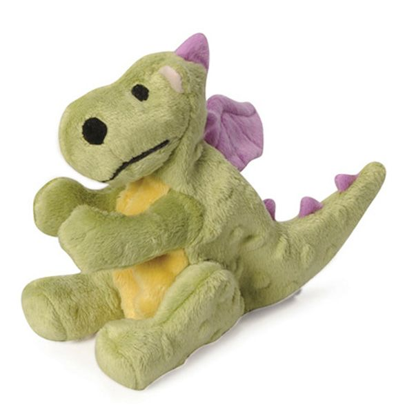Godog Dragons Dog Toy Lime Green Durable Dog Toys Dog Chew