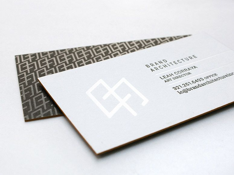 Brand architecture inc business card branding corporate identity brand architecture inc business card branding corporate identity stationary logo pattern minimal graphic design foil reheart Image collections