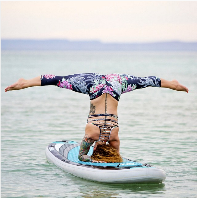 Badass Yogis Around The World (Happy International Day Of Yoga!) 21 Badass Yogis Around The World (Happy International Day Of Yoga!) - International  International is an adjective (also used as a noun) meaning