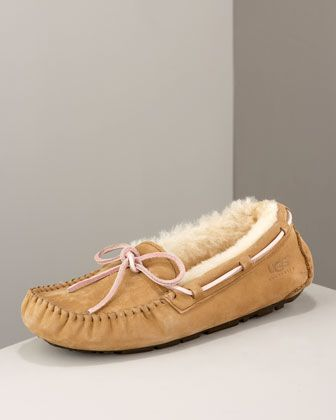 Dakota Driver Bow Slipper by UGG Australia So warm and comfy!