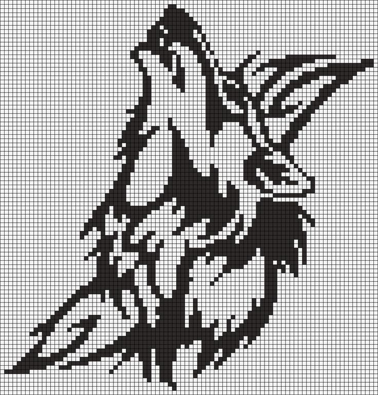 Alpha Pattern #13871 Preview added by puppydog Doggy Pinterest - cross stitch graph paper