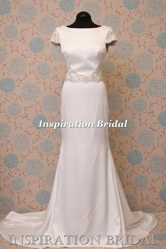 f3c436cce478 £220.00 1561 wedding dress dresses 1920s 1930s 1940 sheath gown vintage  inspired