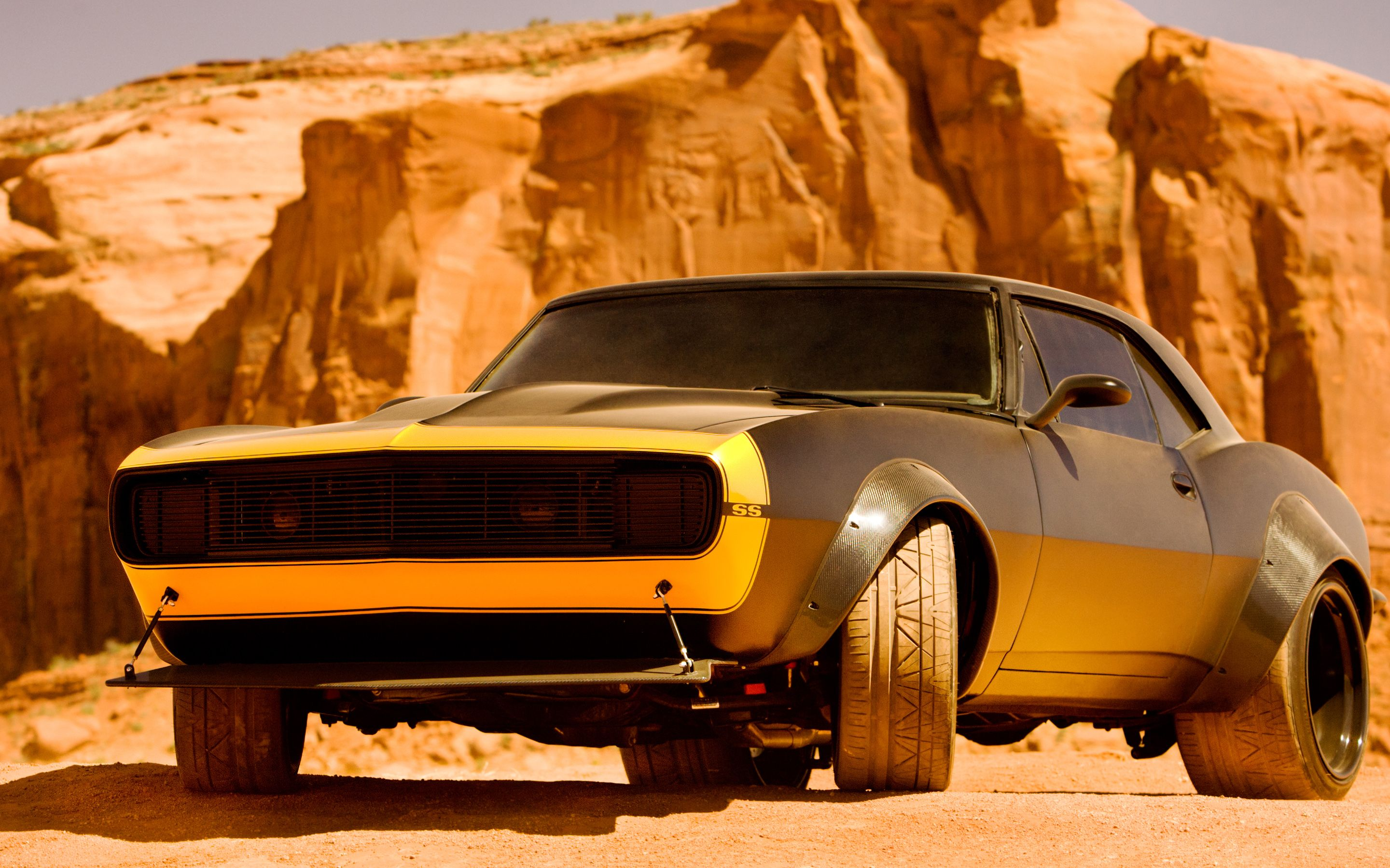 bumblebee camaro transformers 4 wallpaper | american muscle