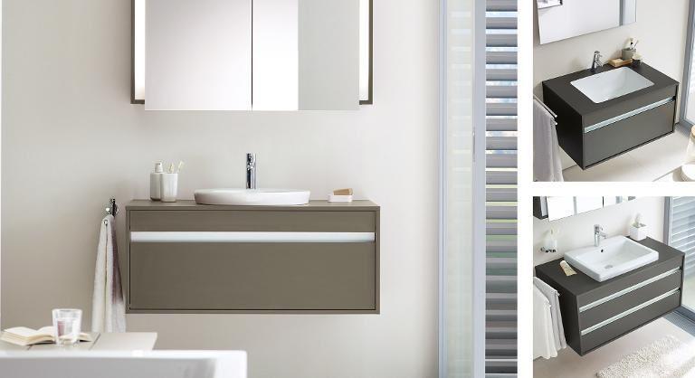 The Luxury Look Of High End Bathroom Vanities Bathroom Vanity Bathroom Furniture Duravit