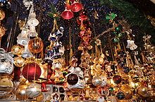 History of the Christmas ornament from Wikipedia, the free encyclopedia.  Pinned by www.mygrowingtraditions.com
