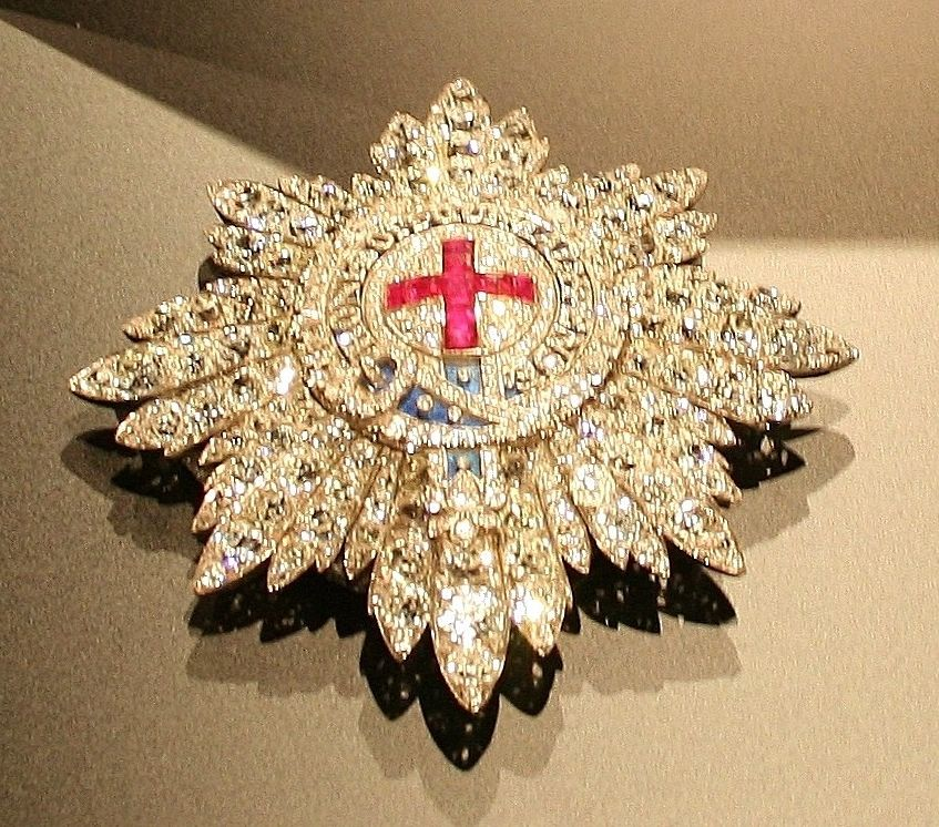 Order Of The Garter Diamond Star From The Collection Of The Marquesses Of Londonderry Loaned To Sir Wi British Crown Jewels Order Of The Garter Crown Jewels