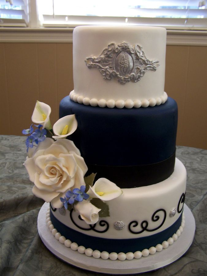 10 tier wedding cake ideas 10 8 and 6 inch fondant tier cake for a small wedding i 10015